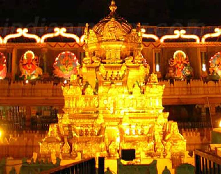 fake certificates issue in vijayawada temple... two employees suspended akp