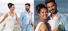 First pics out Bigg Boss contestants Rochelle Rao and Keith Sequeira are now married