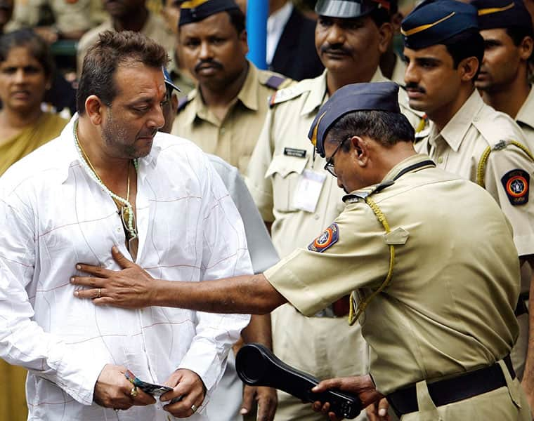 Actor sanjay Dhat released earlier without central government
