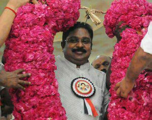 TTV Dhinakaran displays show of strength at party launch in Madurai