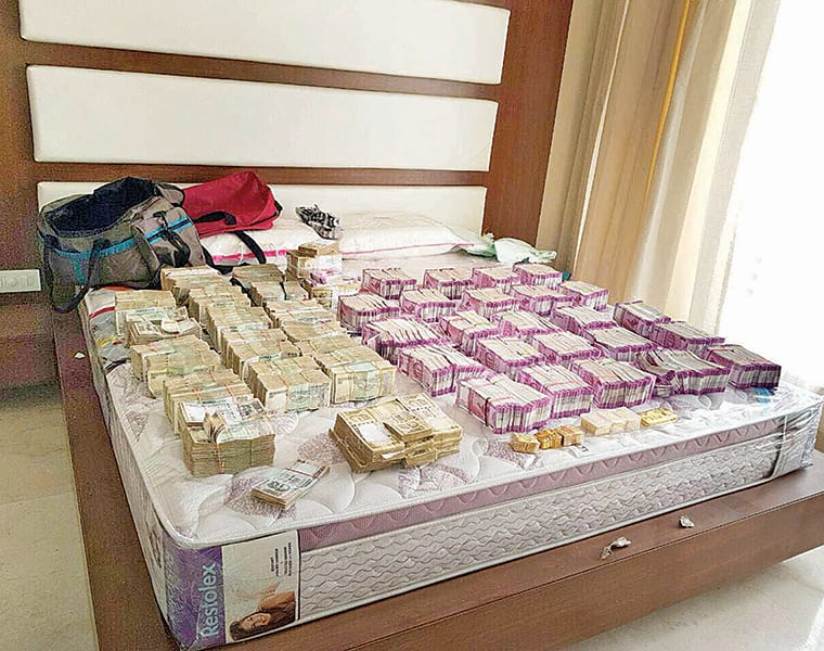 IT Department Seizes over 93 Cr  new currency notes post demonetization