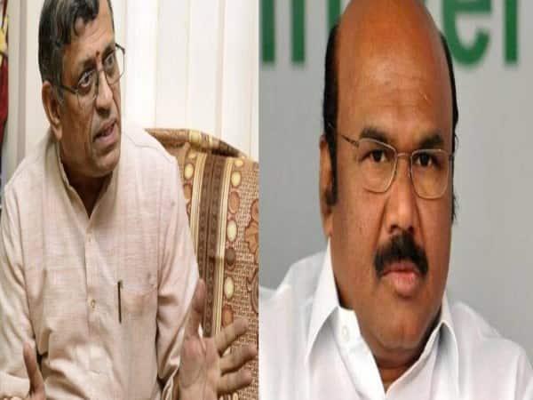The Minister warned Auditor Gurumoorthy