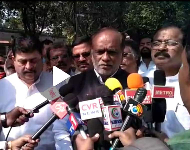 Telangana bjp chief dr.k.laxman serious comments on trs-mim party alliance