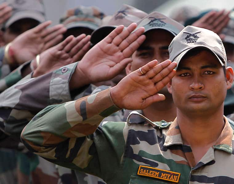 Armed Forces Flag Day Politicians celebrities pay tribute to soldiers on Twitter