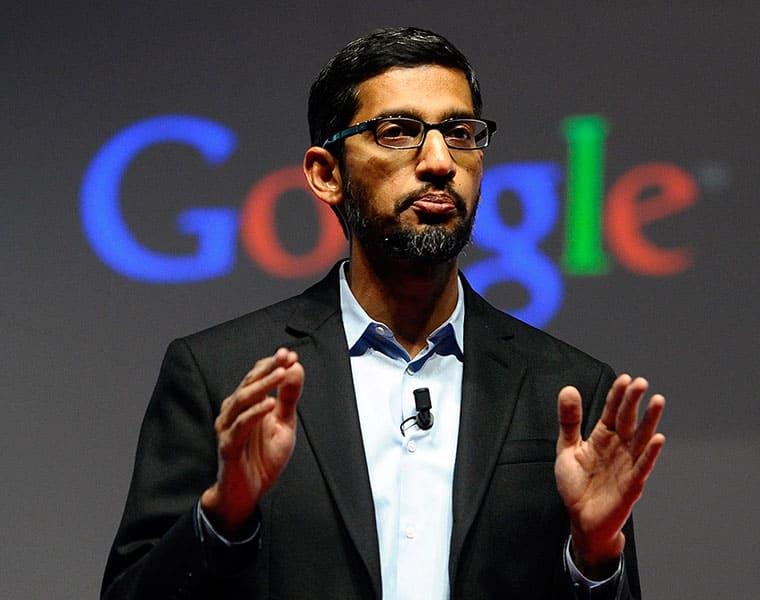 Google chief Sundar Pichai replaces Sergey Brin as CEO of parent company Alphabet