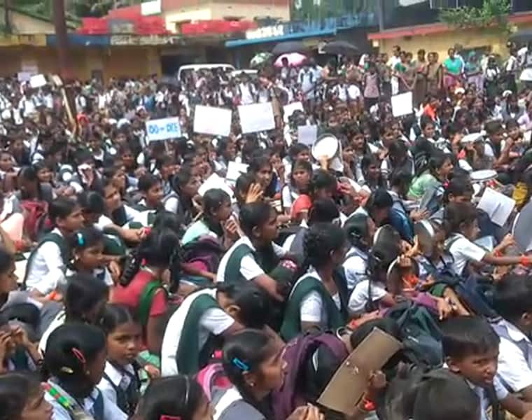Kerala Government Ban Student Protest