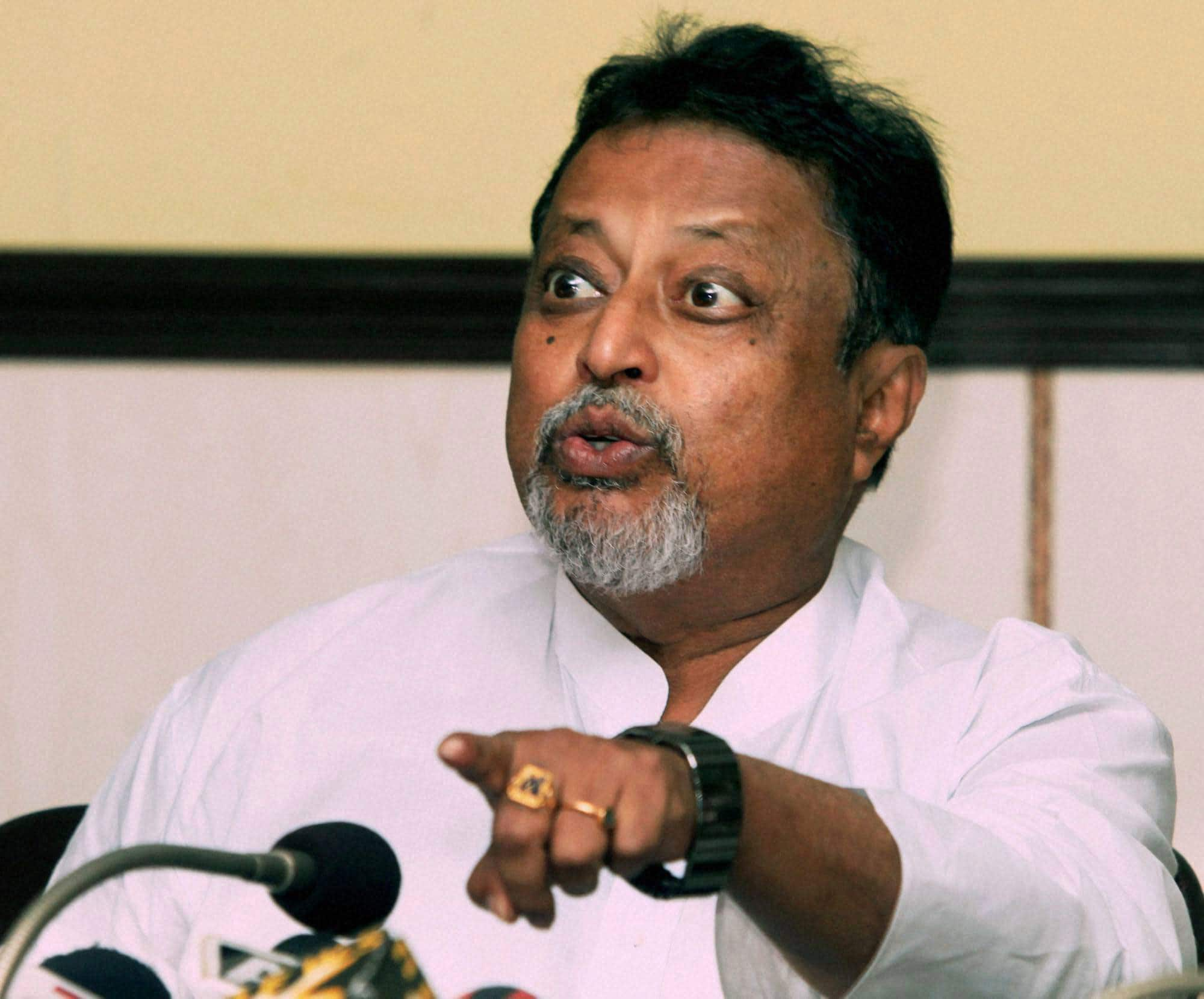 Mukul Roy slams Dilip Ghosh on Eligibility comment in Party BTD