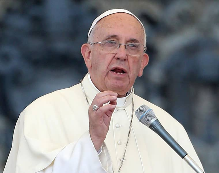 Pope Urges Peace Comforts Terror Victims In Christmas Message