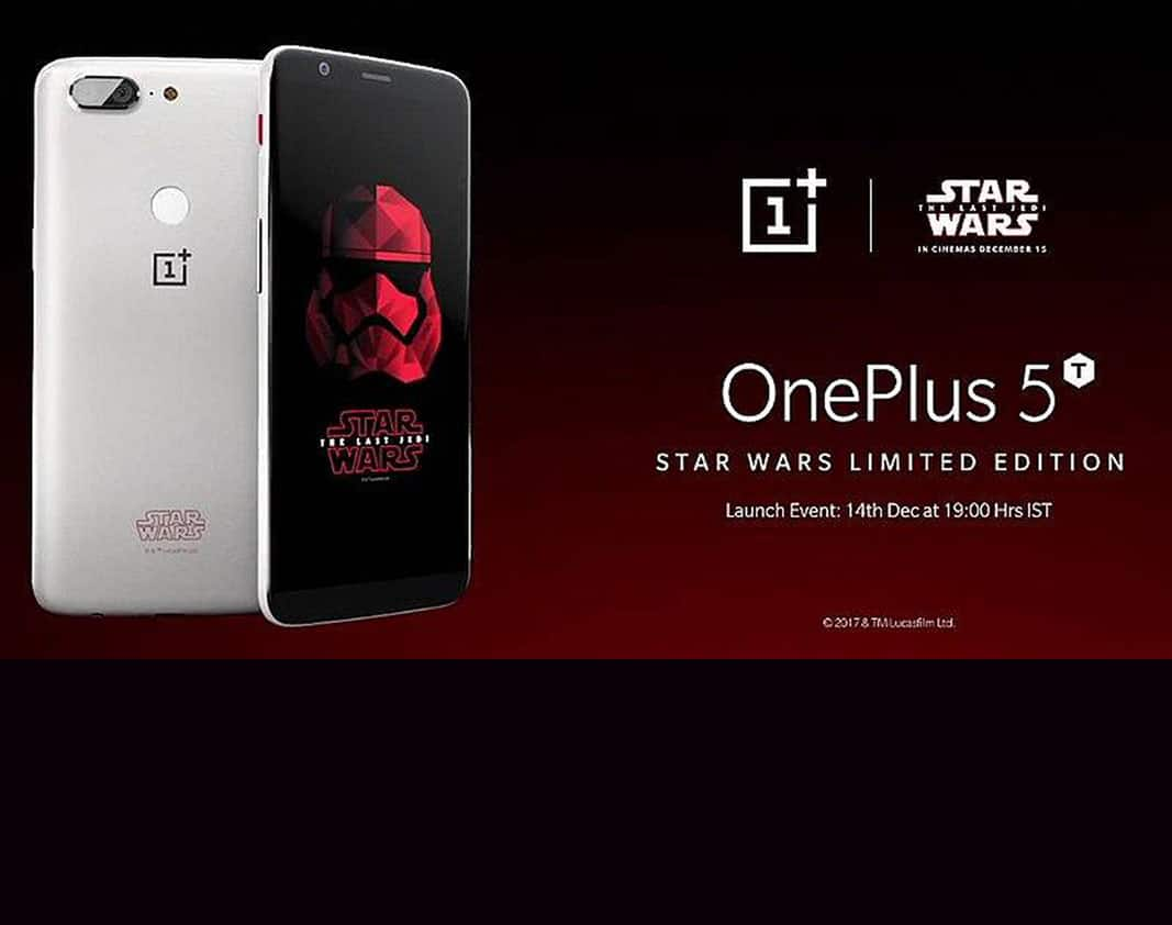 OnePlus launches Star Wars edition of 5T in India