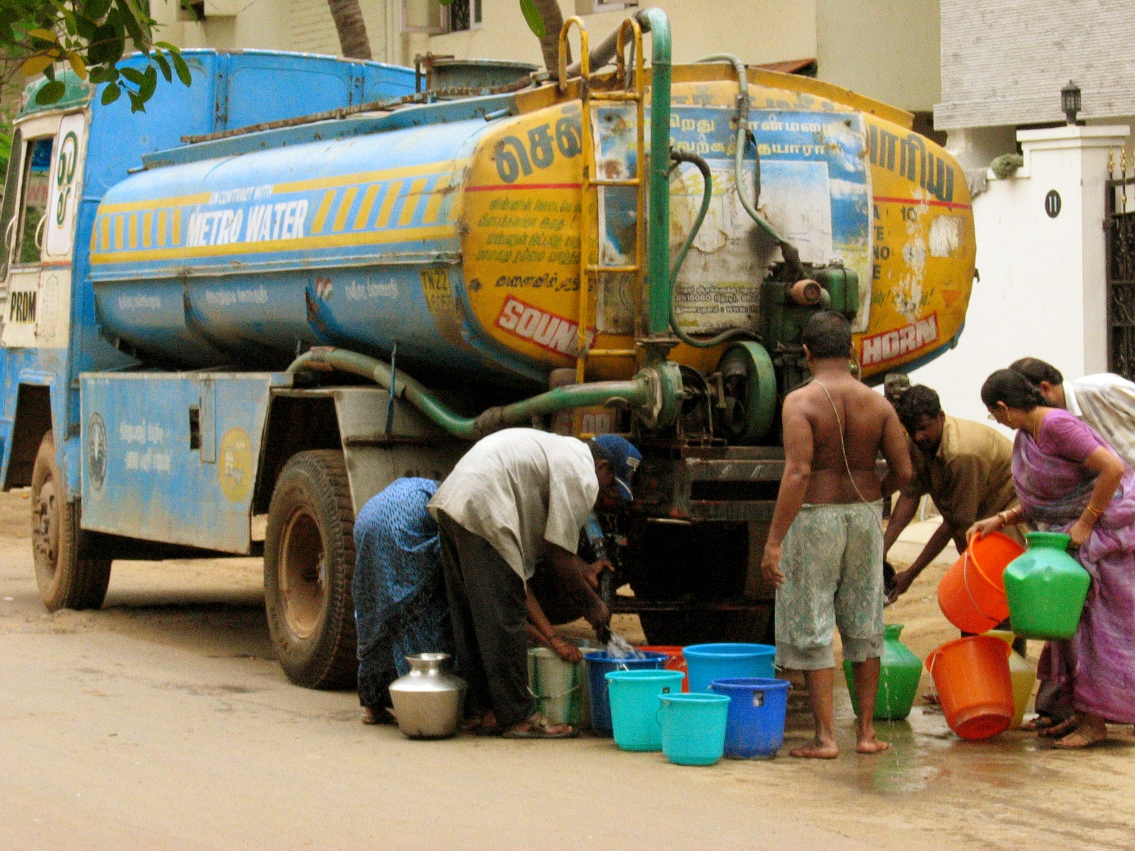 Chennai faces acute water scarcity tankers make hay