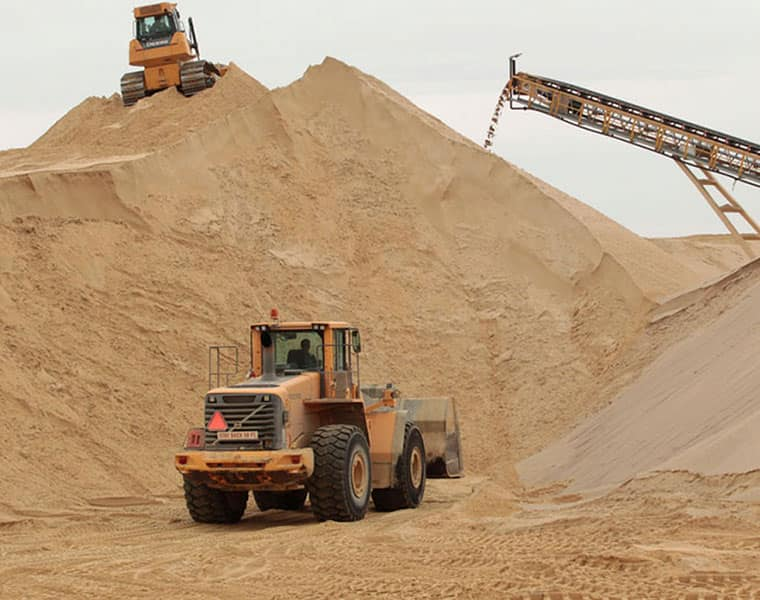 sand mining prohibition: construction sector critically affected