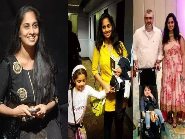 ajith participate daugther school function