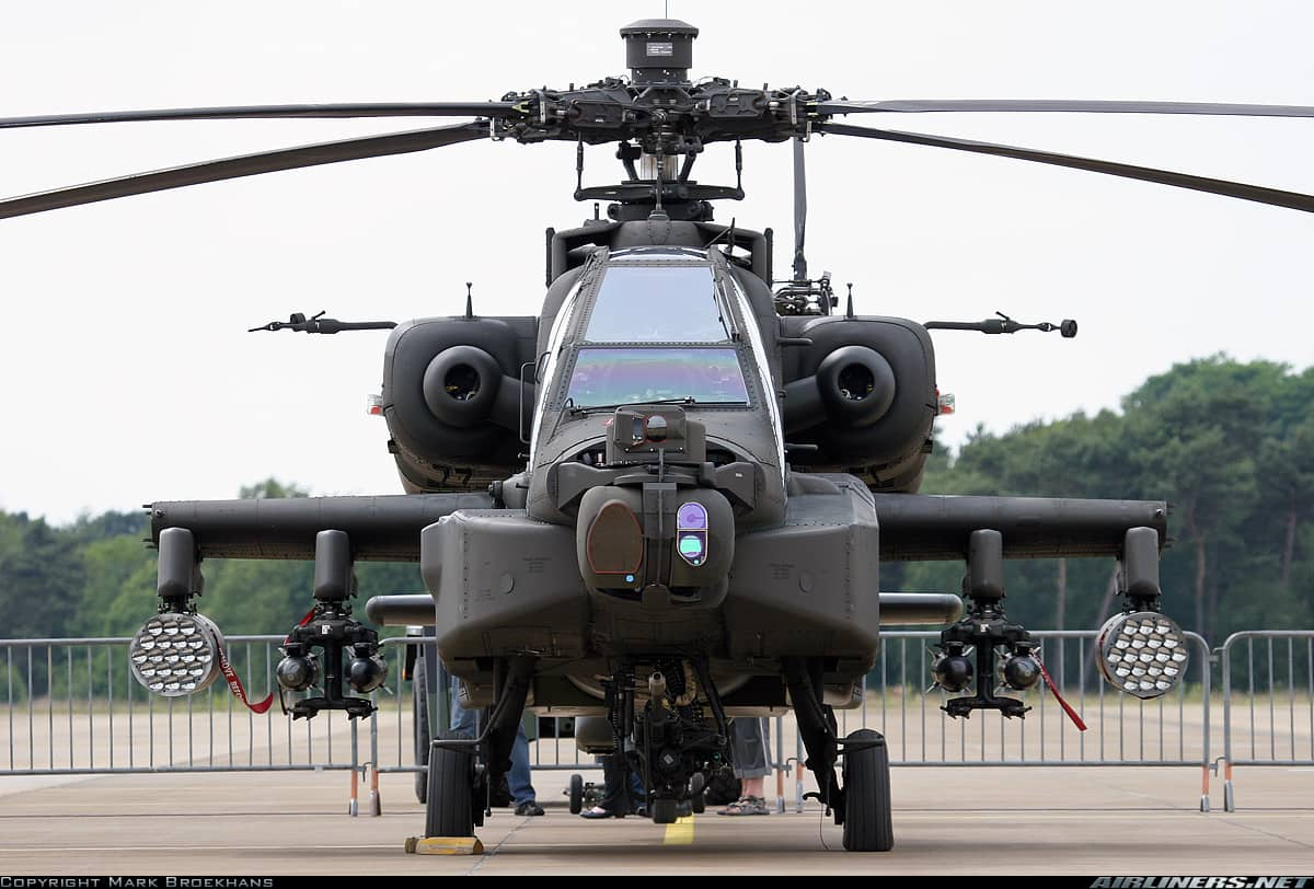 IAF gets formidable Apache helicopter which is a game changer in the battle field for India