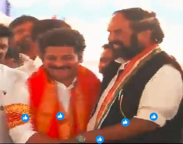 t pcc chief uttam attends revanth meeting at his resicence