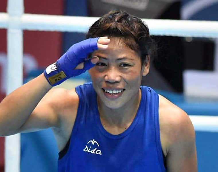 Star boxer Mary kom assured 7th-medal-at-world-championship
