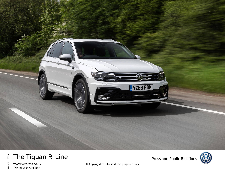 Six specialities of Volkswagen Tiguan