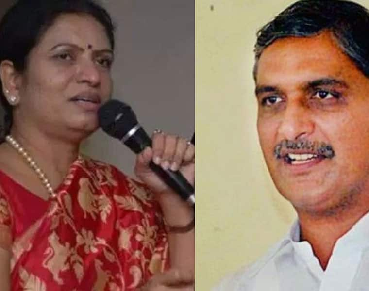 Now talk of the town dk aruna will she switch over to TRS