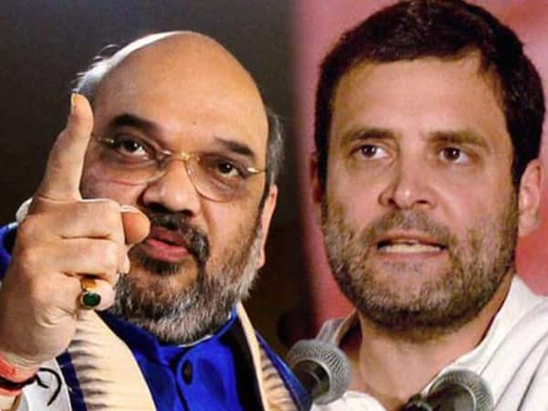 Sharing video of injured soldiers father Amit Shah exhorts Rahul Gandhi to rise above petty politics