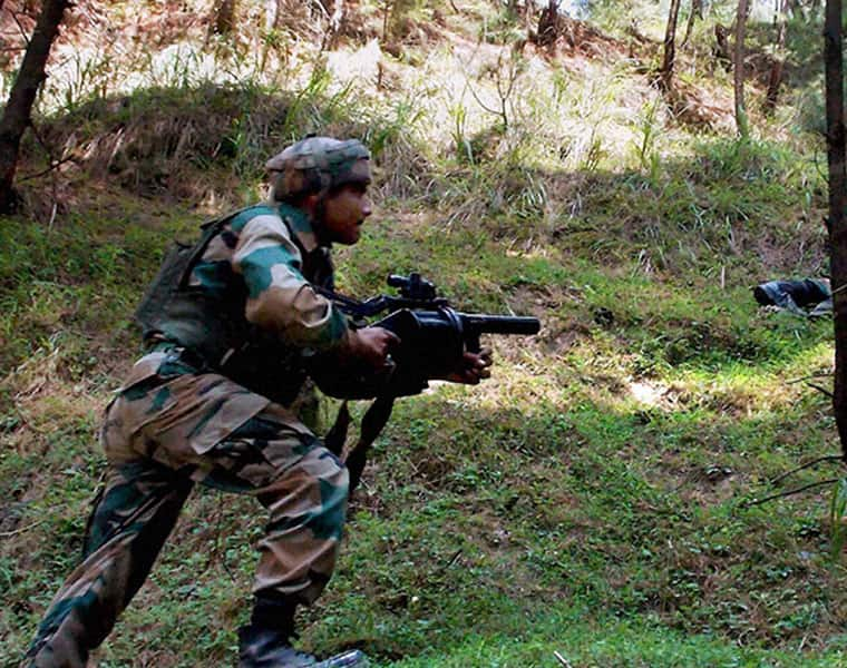 Indian Army Pakistan Line of Control Poonch sector ceasefire violation