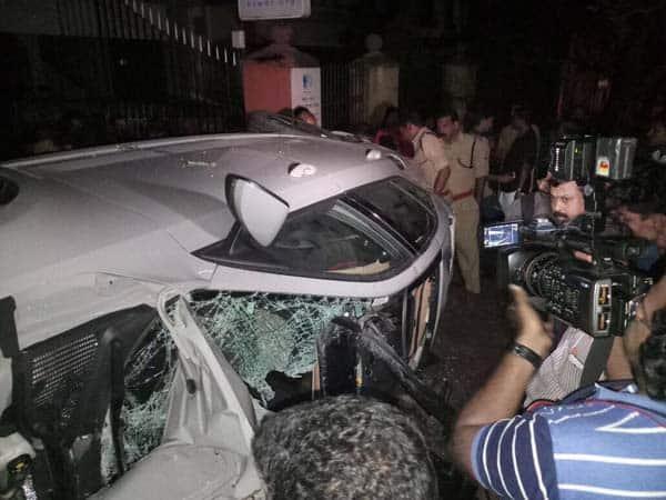businessman son dead high speed car crash police suspect racing tvm