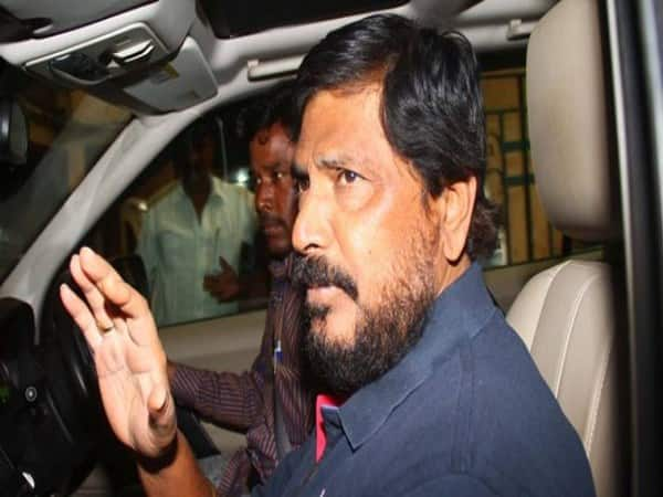 Ramdas Athawale Allegedly Slapped, Pushed By Man In Maharashtra