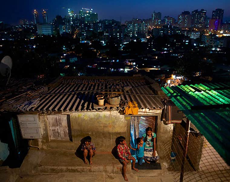 India builds cities but poor have no homes in them