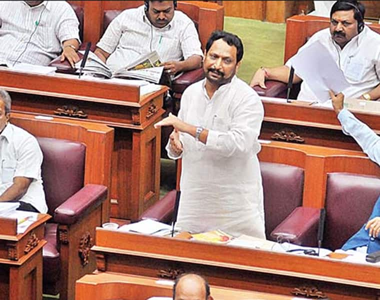 BJP will send deputy CM who watches blue film to council to save chair