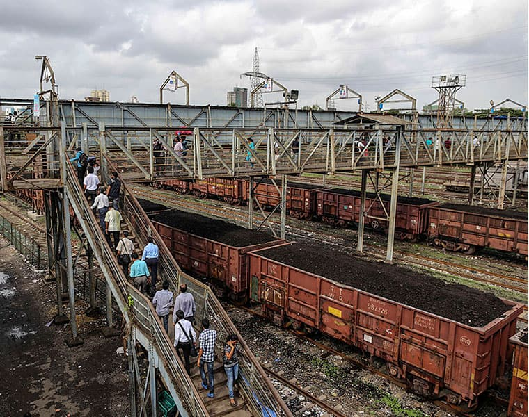 disruption in coal supply affects electricity production in andhrapradesh