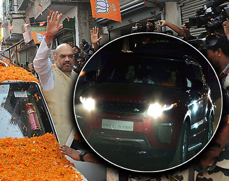 Why did Amit Shah ditch his secure car for this businessmans car during Mangaluru visit