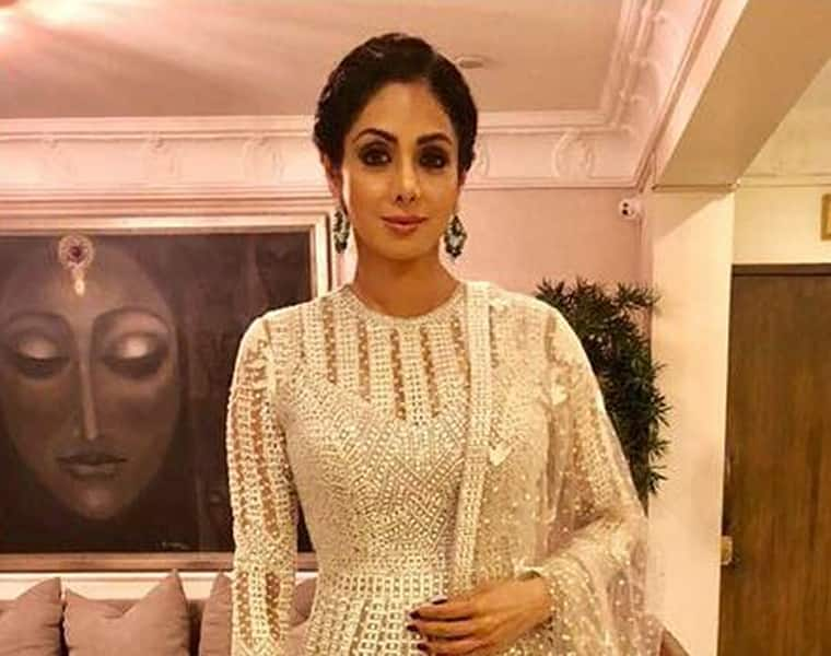 RIP Sridevi Did the Bengaluru fan club of hers have a premonition