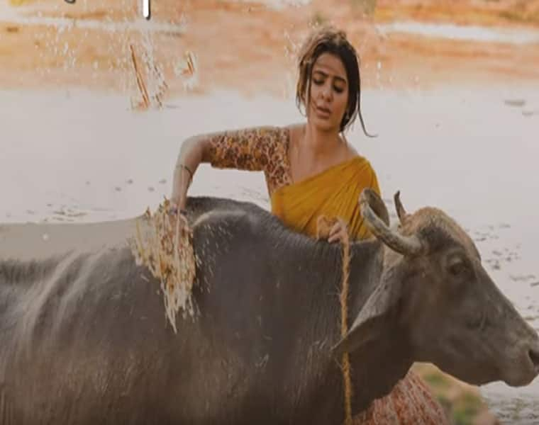Samantha Akkineni and Ram Charan look perfect in this video