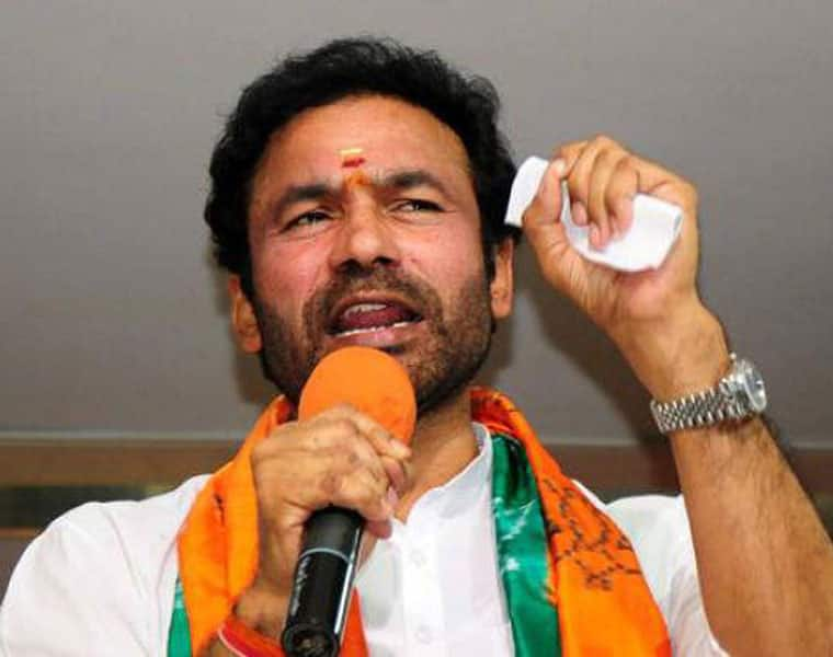 BJP  Assembly floor leader G Kishen Reddy has no space to sit in party office