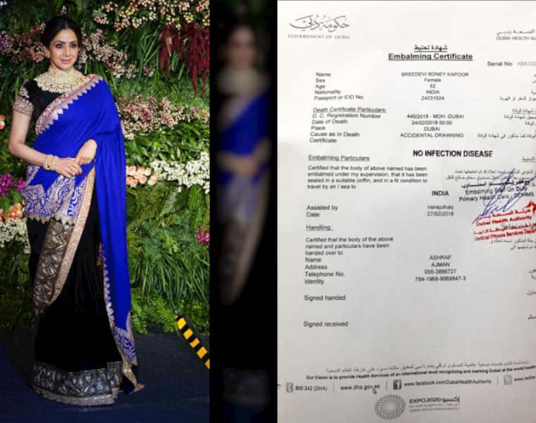 Latest updates Sridevi body leaves for the airport