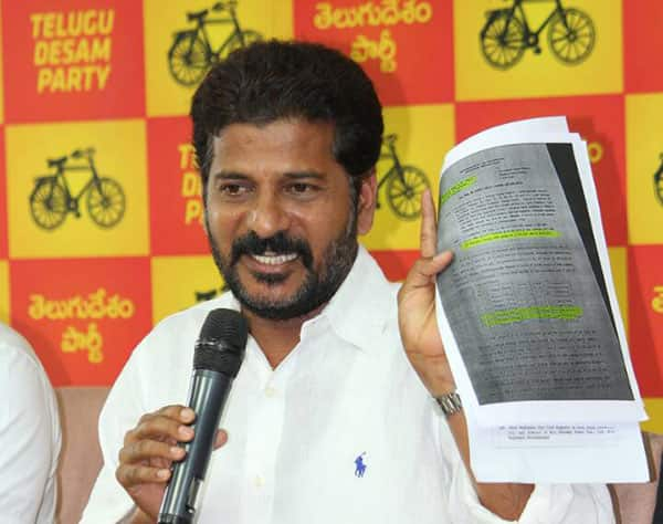 What did TTDP Rebel Revanth write in his resignation letter