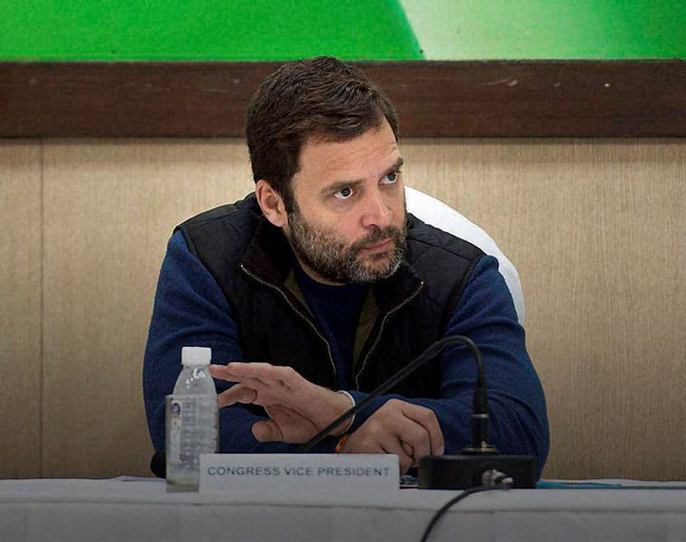 Modi Doing TRP Politics Says Rahul Gandhi