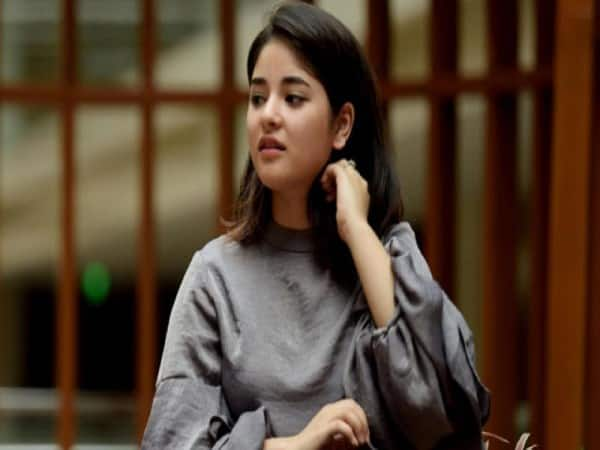 Zaira washim have faced question on social media