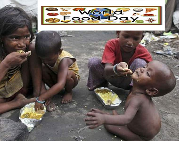 World Food Day A day to act against hunger