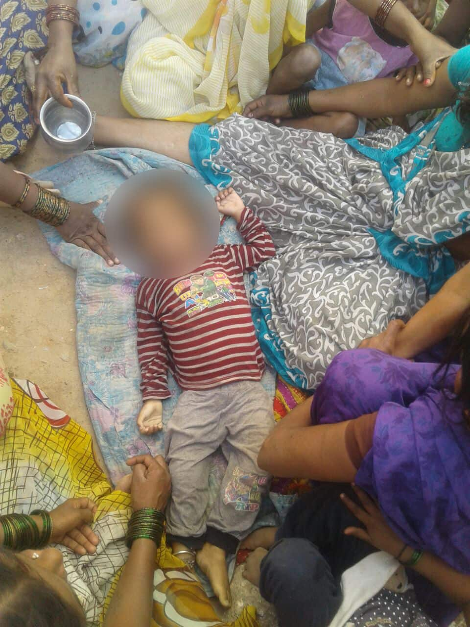 Two year old child falls in stormwater drain in Bengaluru dies