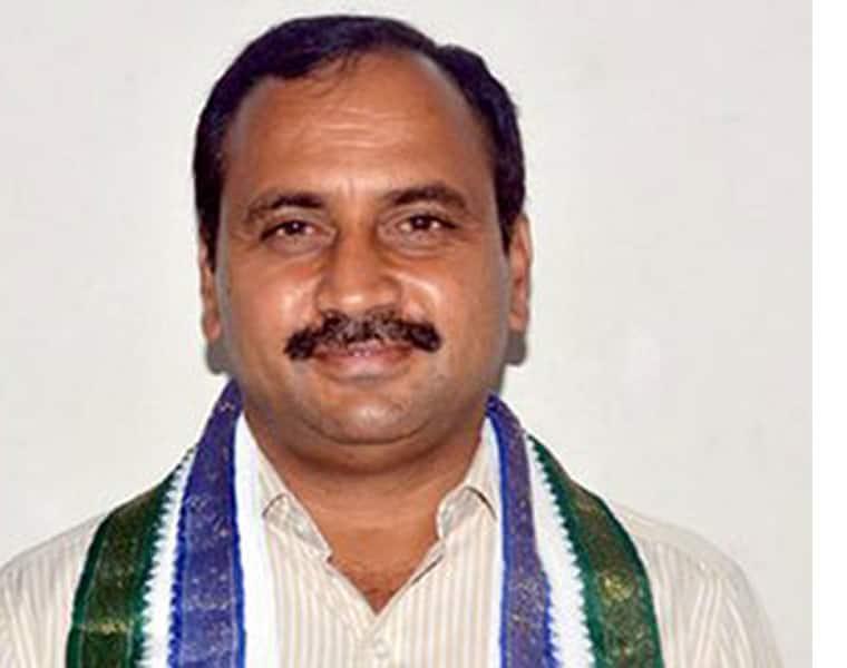 Police booked a case against ycp MLA Alla Ramakrishna reddy