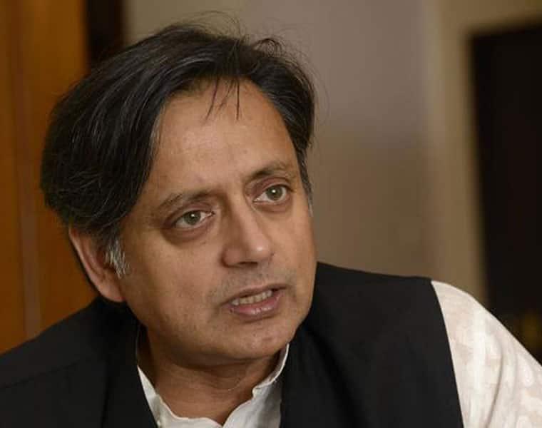 Shashi Tharoor Narendra Modi RSS Congress BJP scorpion sitting on Shivling