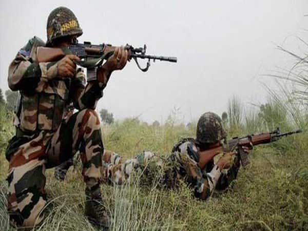 Pakistan India Army Line of Control Jammu and Kashmir attack firing underway
