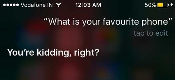 Apple Siri funny responses