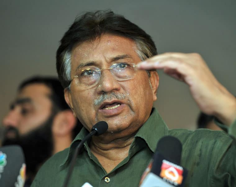 Musharraf's challenge to the court order to form commission to record statement