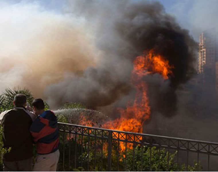 60 Thousand People Affected by Wildfire in Israel