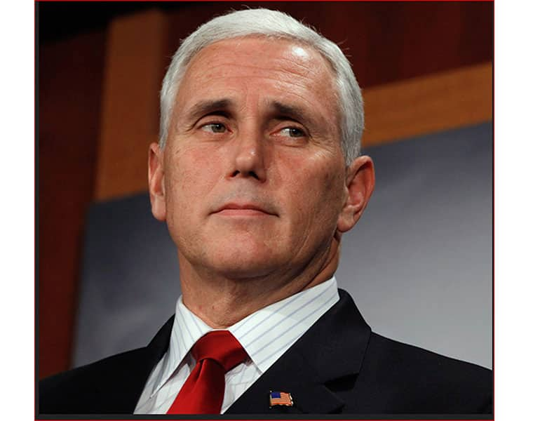 Pence says threat to religious minorities not confined to autocracies only