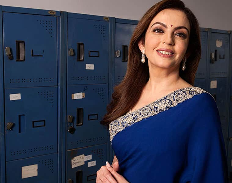 When doctors told 23-year-old Nita Ambani that she would never conceive