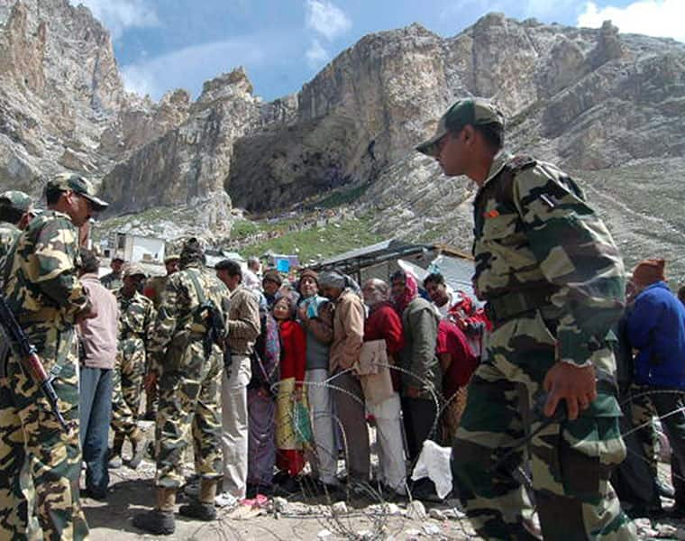 High security for amarnath yatra in jammu and kashmir