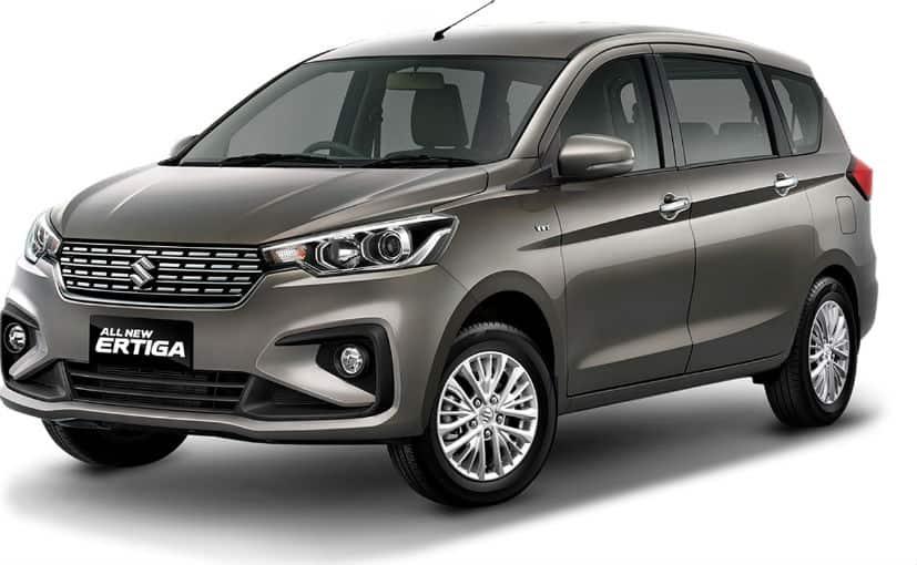 2018 Maruti Suzuki Ertiga Bookings Open ahead of launch