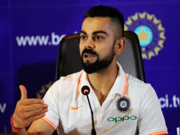 bcci confirms captain kohli will meet press before departure from india for west indies series