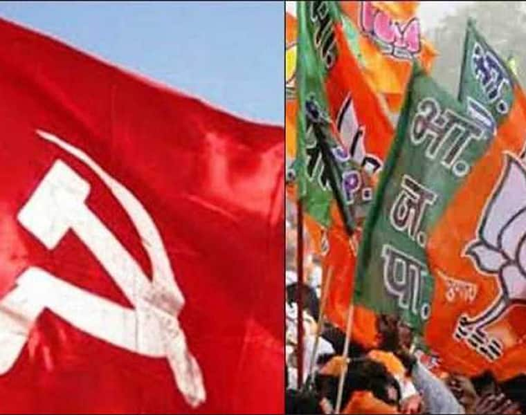 Sabarimala Four BJP leaders uncomfortable  defy ideology resign express wish to join CPI(M)